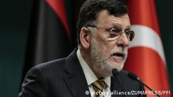 Ulusal Mutabakat Hükümeti Başkanı Fayiz Serrac