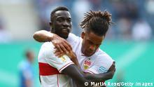 Deutschland Fußball Hansa Rostock vs. VfB Stuttgart