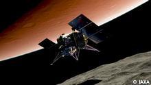 Japan Mars Mission MMX von JAXA