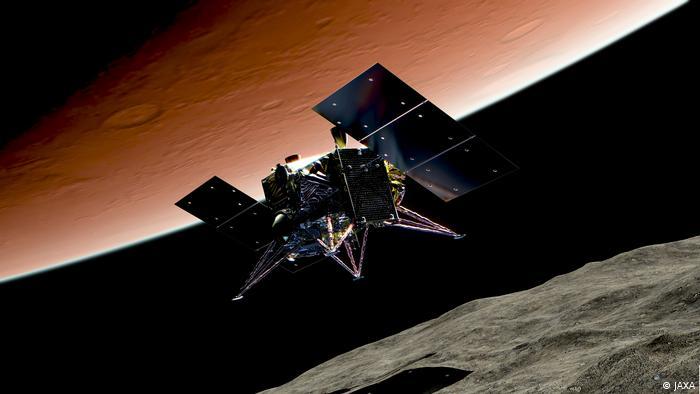 Japan's MMX Martian Moons eXploration mission