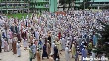 Bangladesch Protest in Hathazari Madrasa