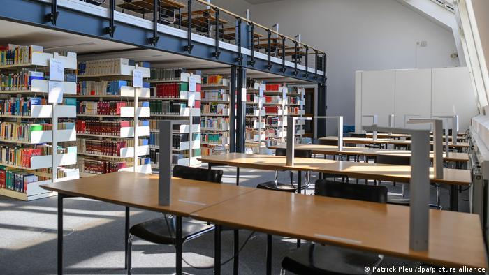 Порожня бібліотека Європейського університету Віадріна у Франкфурті-на-Одері