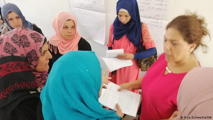 تدريب النساء في بيروت من أجل تقوية دور النساء في المجتمع