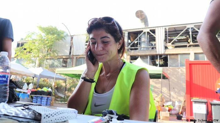 Melissa Fathallah on the phone