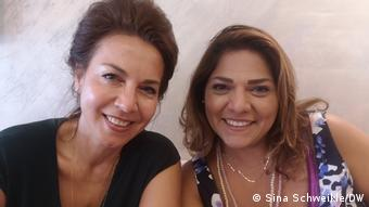 Η Χάνα Νασέρ και η Ράντα Γιασίρ από το Smart Center