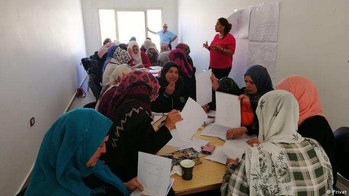 Women attending course in Lebanon