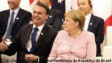 Japan G20 Angela Merkel und Jair Bolsonaro