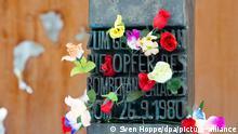 Denkmal Oktoberfest Attentat