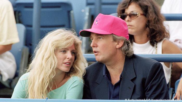 USA Donald Trump und Marla Maples
