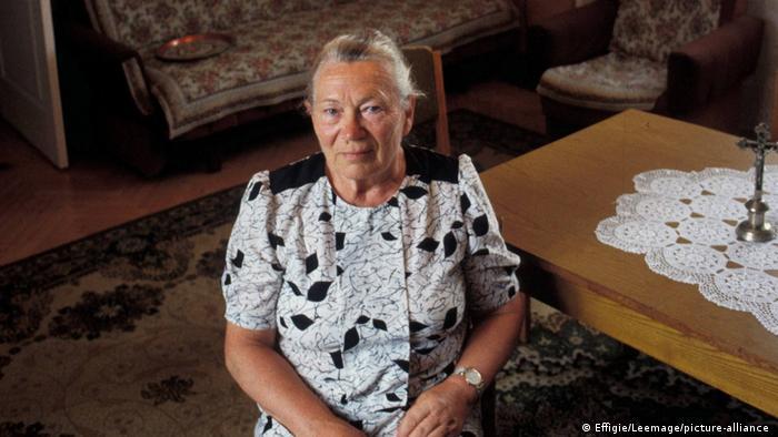 Anna Walentynowicz - jedna z liderek Solidarności