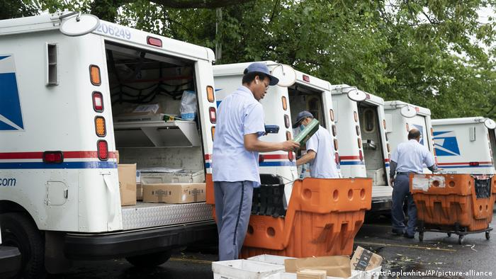 USA I Symbolbild Postservice (J. Scott Applewhite/AP/picture-alliance)