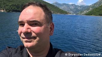 Dragoslav Dedović u zalivu