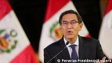 Peru I Präsident Martin Vizcarra