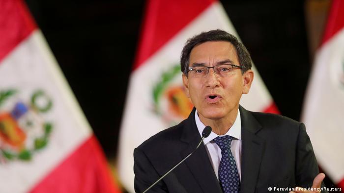 Martin Vizcarra, president of Peru (Peruvian Presidency/Reuters)