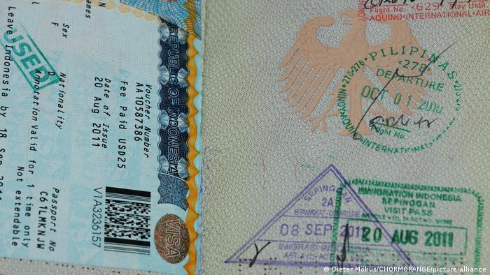 Foto ilustrasi visa
