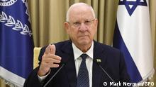 Israel Staatspräsident Reuven Rivlin,