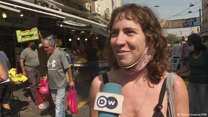 Israel Coronavirus Lockdown Anat Dreamer (Tania Kraemer/DW)