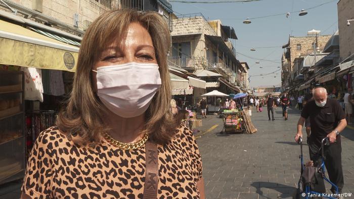 Israel Coronavirus Lockdown Yael Turgeman (Tania Kraemer/DW)