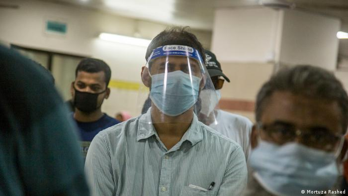 Bangladesch Coronavirus Krankenhaus (Mortuza Rashed)