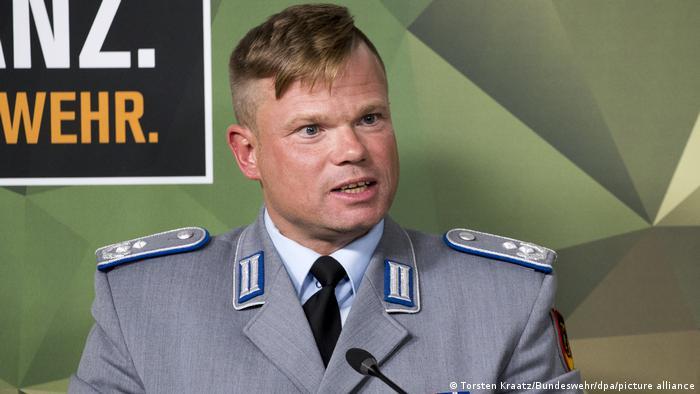Lieutenant Colonel Klaus Storkmann, who authored a report on the Bundeswehr's former anti-gay policies (Torsten Kraatz/Bundeswehr/dpa/picture alliance)
