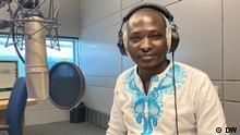 Caption: John Juma of DW Kiswahili Copyright: DW/John Juma