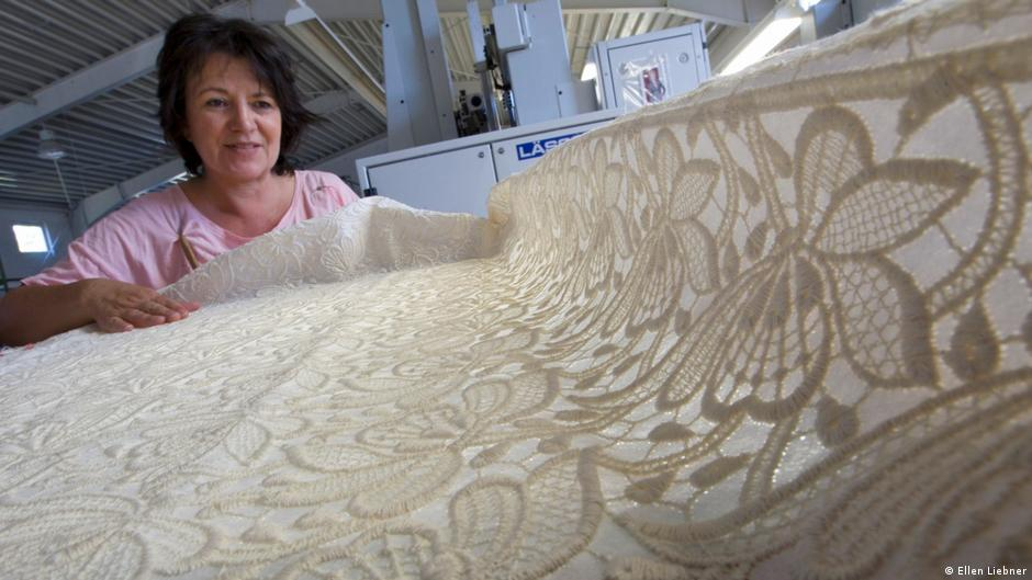 Plauen lace: Where embroidery is never run-of-the-mill