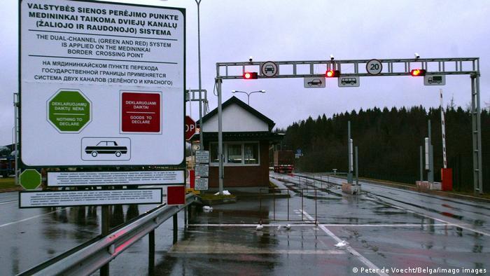 Пропускной пункт на литовско-белорусской границе (фото из архива)