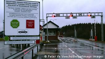 КПП на белорусско-литовской границе
