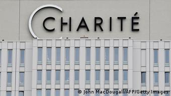 Deutschland Berlin Logo Charité (John MacDougall/AFP/Getty Images)