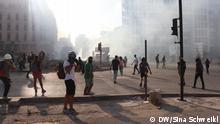 صورة أرشيفية من احتجاجات بيروت