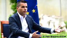Der neue Landwirtschaftsminister von Nordmazedonien, Ljupco Nikolovski