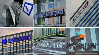 Банки, фигурирующие в досье FinCEN