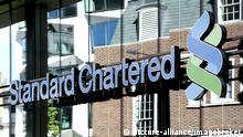 Zentrale der Bank Standard Chartered in London, England, Großbritannien, Europa | Verwendung weltweit, Keine Weitergabe an Wiederverkäufer.