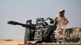 Боец Ливийской национальной армии