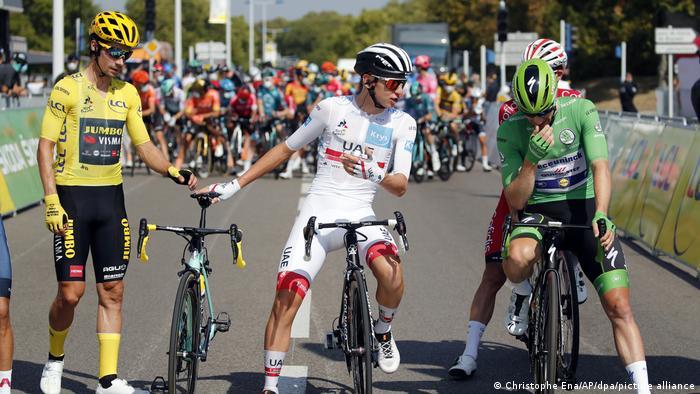 Tour de France 2020 - 19. Etappe Bourg-en-Bresse - Champagnole (Christophe Ena/AP/dpa/picture alliance)