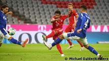 Fussball Bundesliga - Bayern Munich vs. Schalke 04