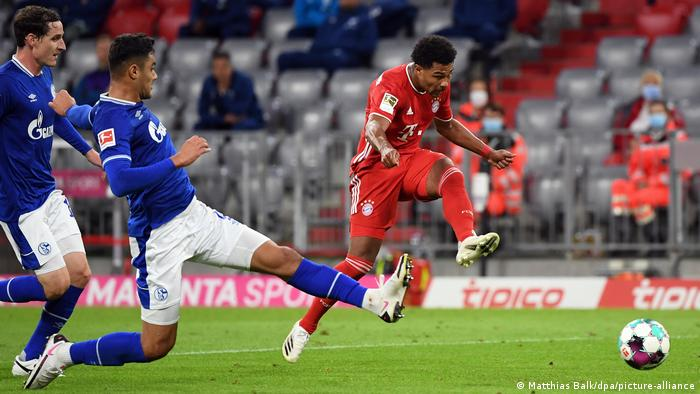 Serge Gnabry scored a hat trick on the way to an enormous win for Bayern