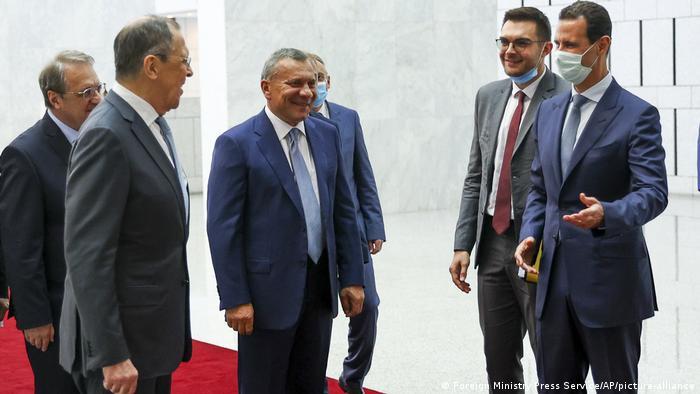 Russischer Außenminister Lawrow zu Besuch in Syrien