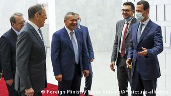 Από την τελευταία επίσκεψη Λαβρόφ στη Συρία στις αρχές Σεπτεμβρίου του 2020