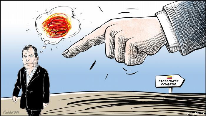 Karikatur von Vladdo I Correa, raus (Vladdo/DW)