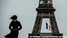 Frankreich I Paris I Coronavirus I Eiffelturm