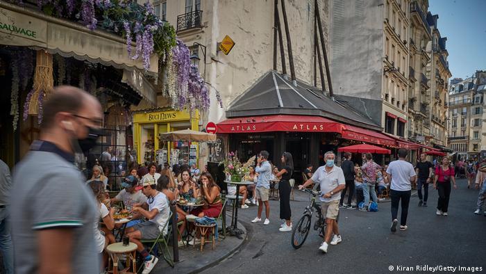 Frankreich I Coronavirus I Freizeit in Paris (Kiran Ridley/Getty Images)