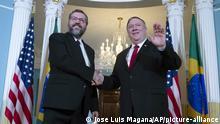 USA I Mike Pompeo trifft Ernesto Araújo in Washington