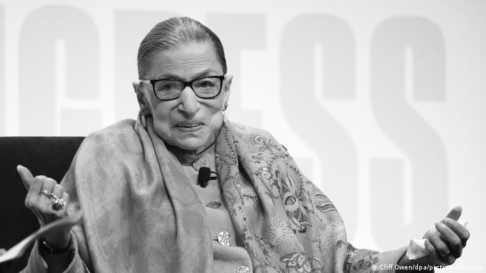 Ruth Bader Ginsburg (Cliff Owen/dpa/picture-alliance)