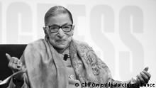 USA Ruth Bader Ginsburg 2019 (picture-alliance/dpa/C. Owen)