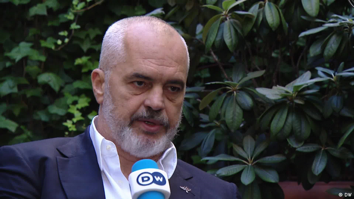 Berlin | Interview Ministerpräsident Edi Rama Albanien