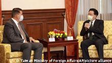 US-Diplomat Keith Krach in Taiwan | Außeninister Joseph Wu