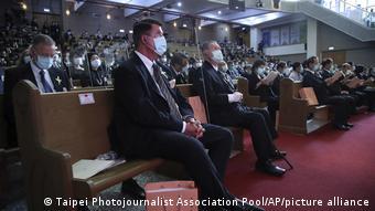US-Diplomat Keith Krach in Taiwan