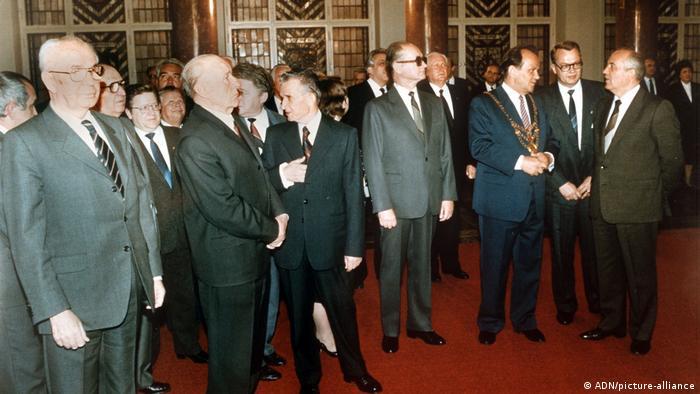 Прием по случаю 750-летия Берлина в Красной ратуше. 29 мая 1987 года