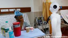 Coronavirus | Indien Krankenhaus Noida | Pflege-Roboter Mitra